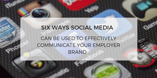 The role of social media in employer branding